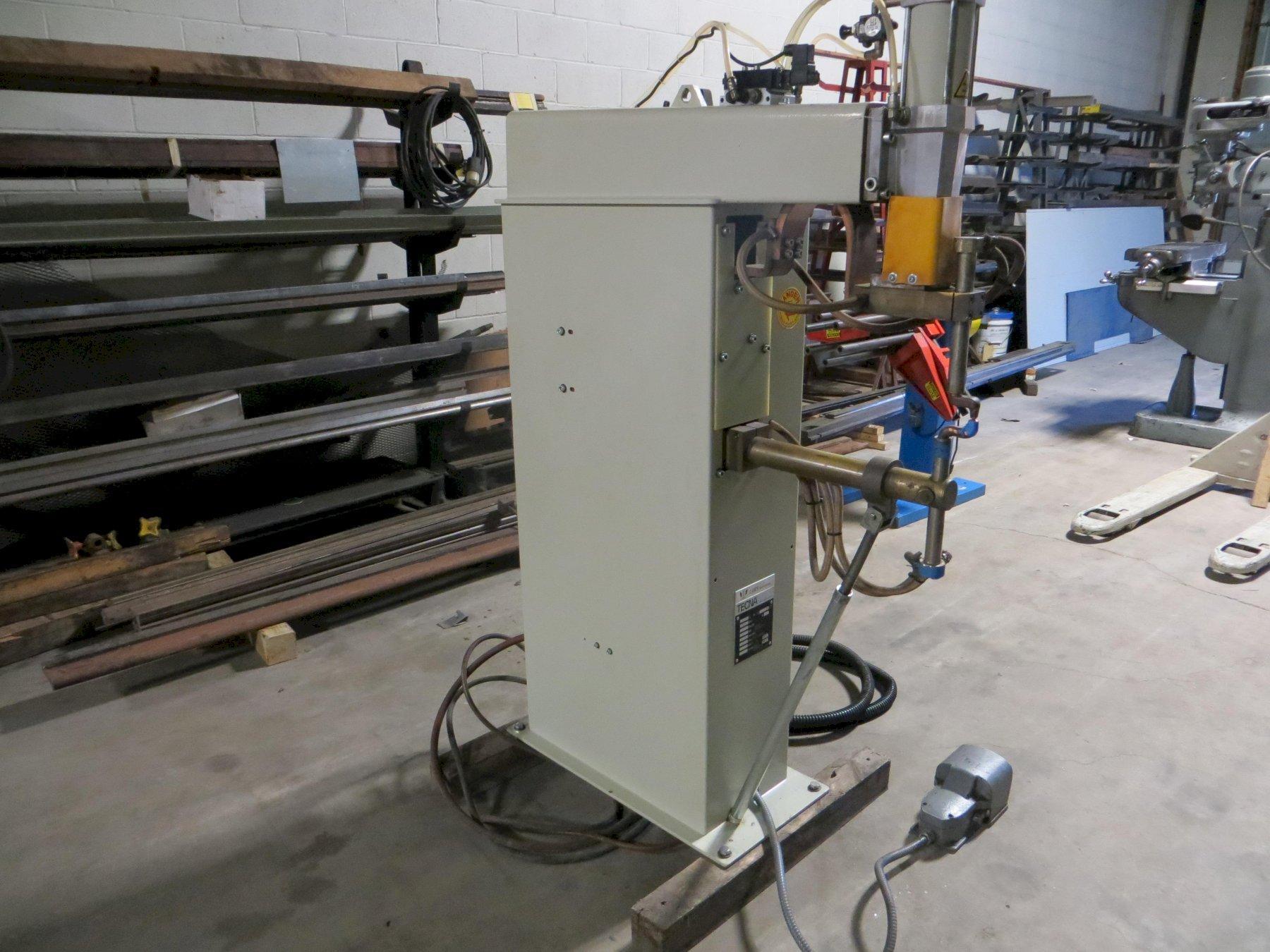 50 KVA, TECNA Press Type Spot Welder, Model 4626N