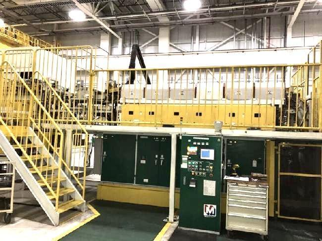 2000 ton Sumitomo Hot Forging Press Line  Press Model : TFPX-2000 New in : 2006