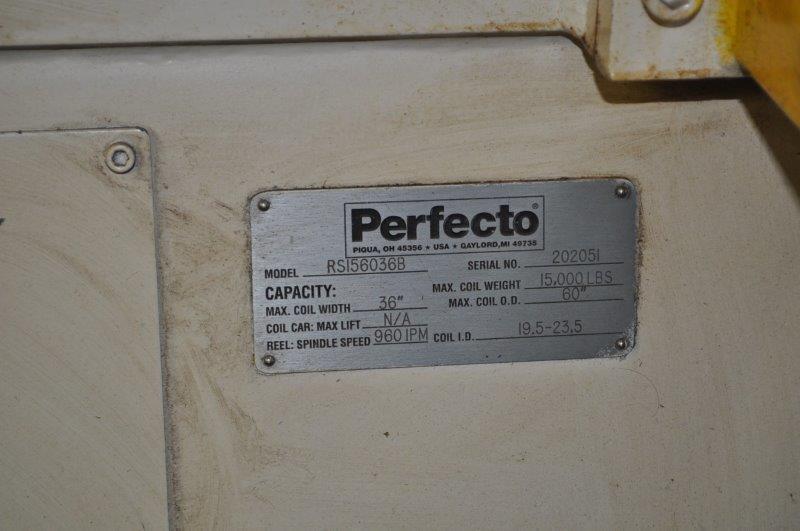 "15,000 LB x 36"" PERFECTO UNCOILER"