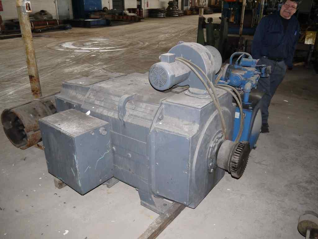 Motor, 500 HP DC