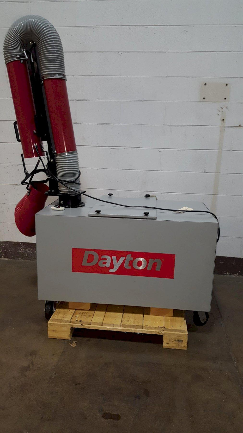 Dayton Model 2HNT3A Industrial Air Cleaner/Welding Fume Extractor