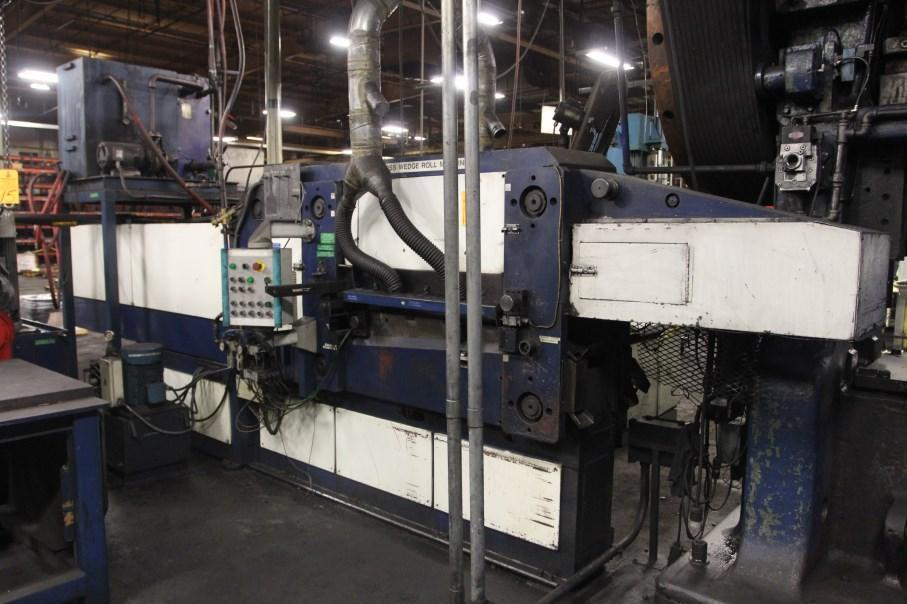 "13-1/2"" AMT CROSS-WEDGE FORGE ROLL MACHINE: STOCK 12192"