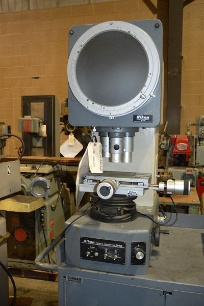 NIKON MDL. V12, PROFILE PROJECTOR   Our stock number: 111863