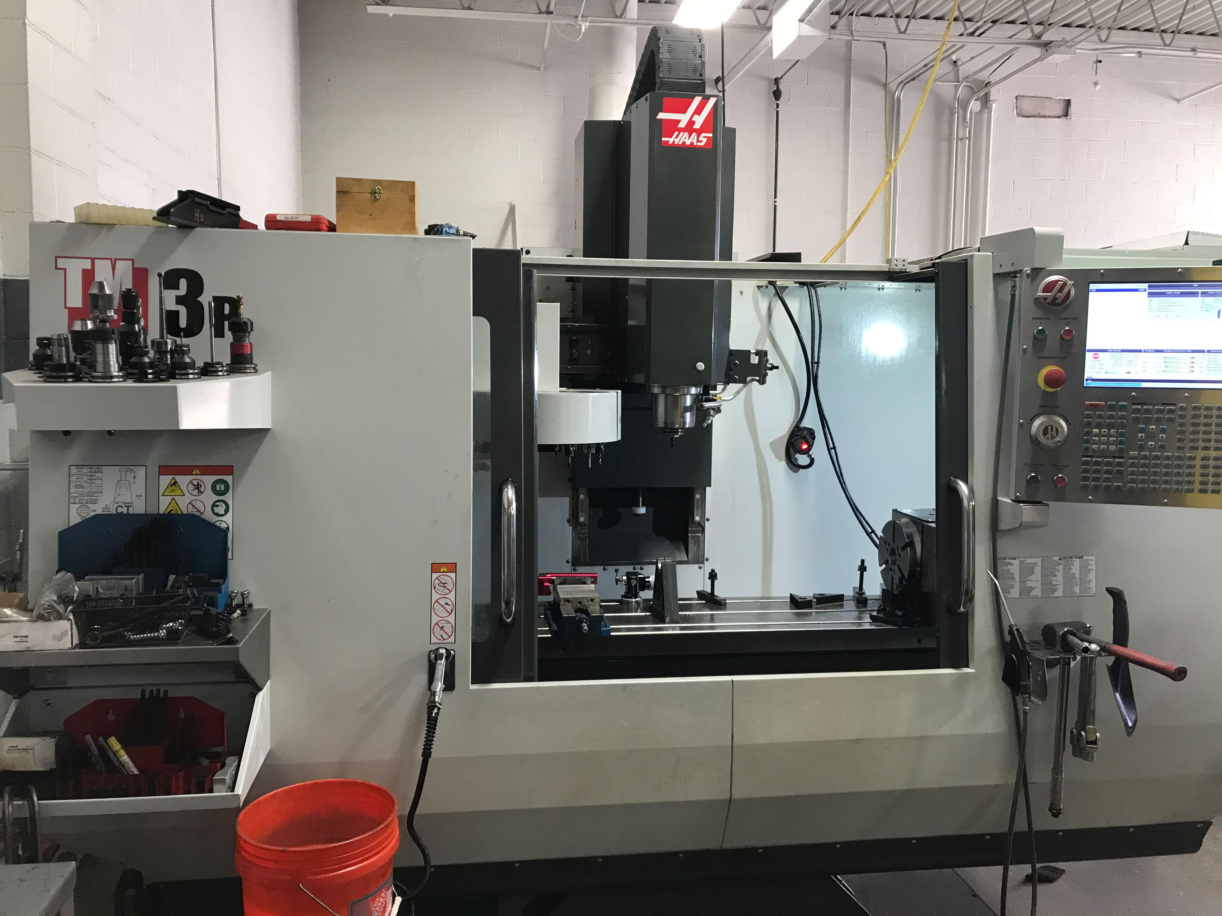 Haas TM3P CNC Vertical Machining Center, 40