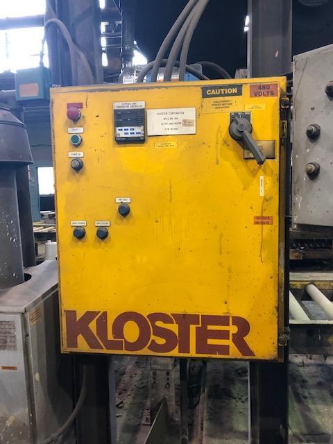 KLOSTER 30 TPH SAND HEATER S/N MS-6912 WITH CONTROLS AND BOILER
