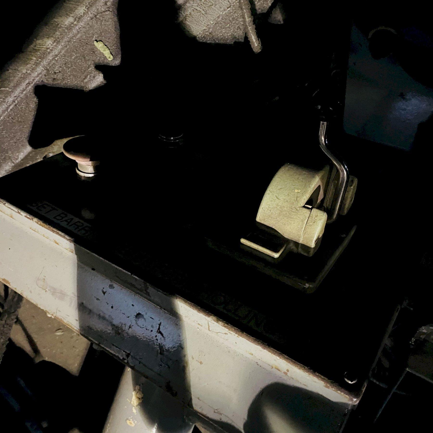 """10' X 1-1/8"""" WEBB 16L 3 ROLL INITIAL PINCH PLATE ROLL. STOCK # 0418121"""