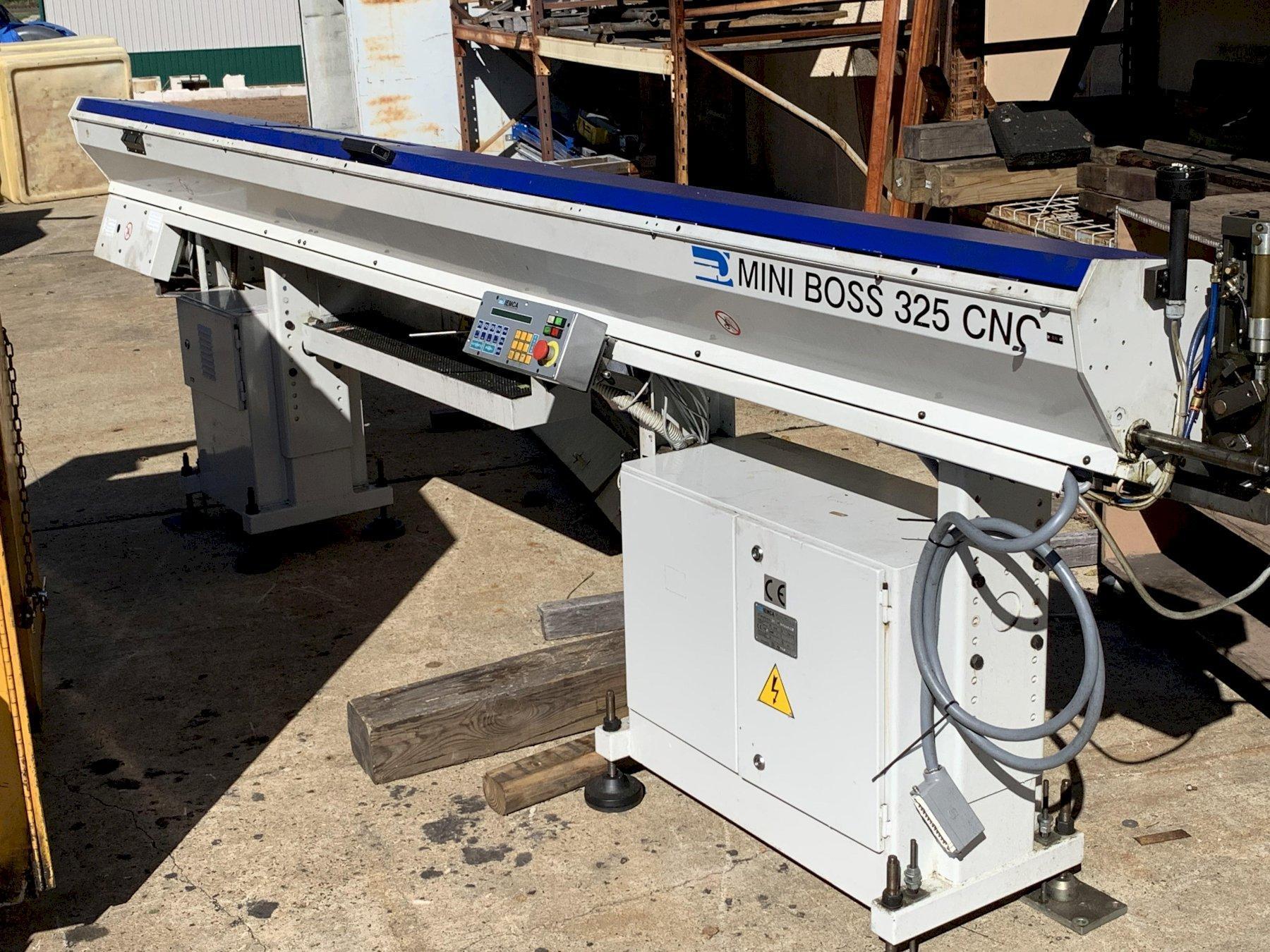 IEMCA MINI BOSS CNC Bar Feed