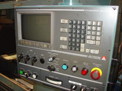 """LAGUN LAGUNMATIC 3516-S, Delta Dynapath CNC Control, X=24"""", Y=16"""", Z=20"""", 35"""" x 16"""" Tbl, 18 ATC, 6000 RPM, 1996."""