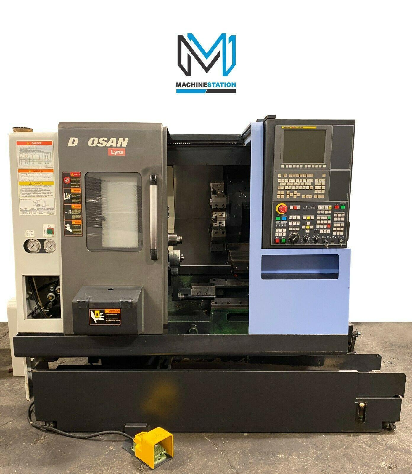 DOOSAN LYNX 220 CNC TURNING CENTER