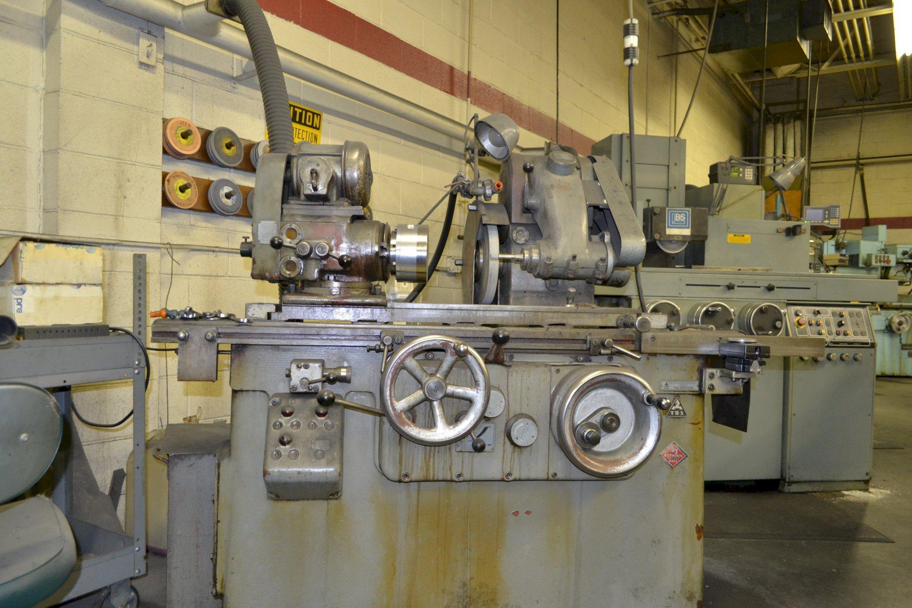 Tos Hostivar Model 1U Cylindrical Grinder
