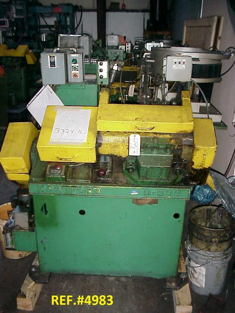 #0 Hartford 0-500 Automated Flat Die Thread Roller