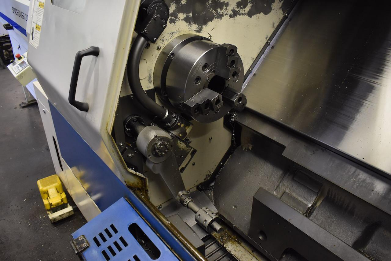 Doosan/Daewoo 240C CNC Lathe Chuck and Parts Catcher