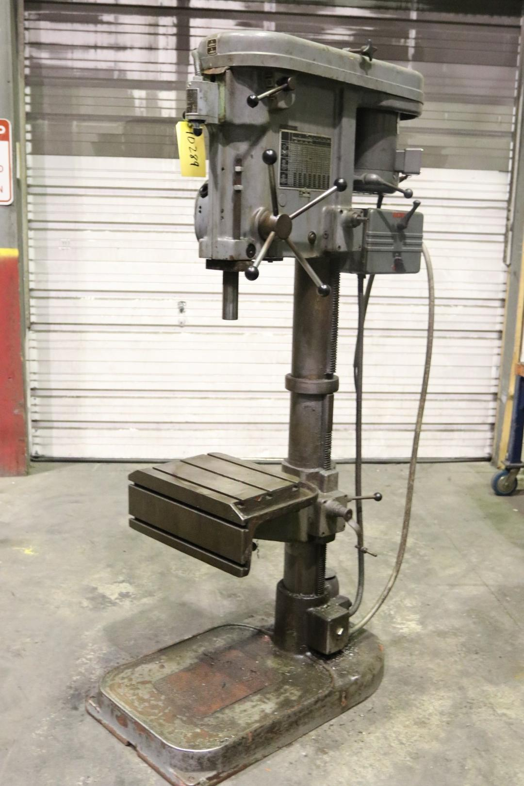 "16"" TOS SINGLE SPINDLE DRILL PRESS: STOCK #10289"