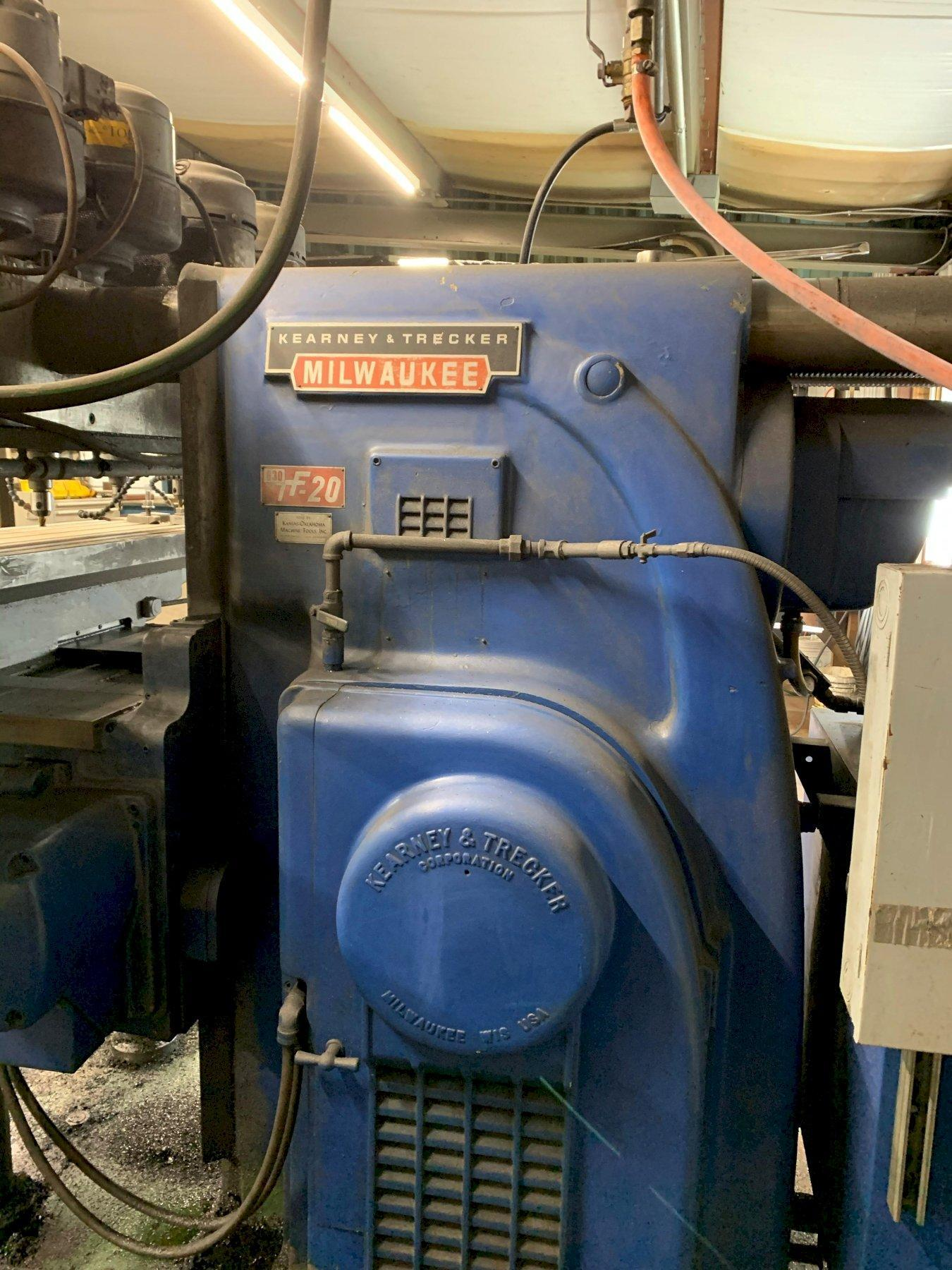 KEARNEY & TRECKER 630TF-20 HORIZONTAL MILLING MACHINE. STOCK # 0952320