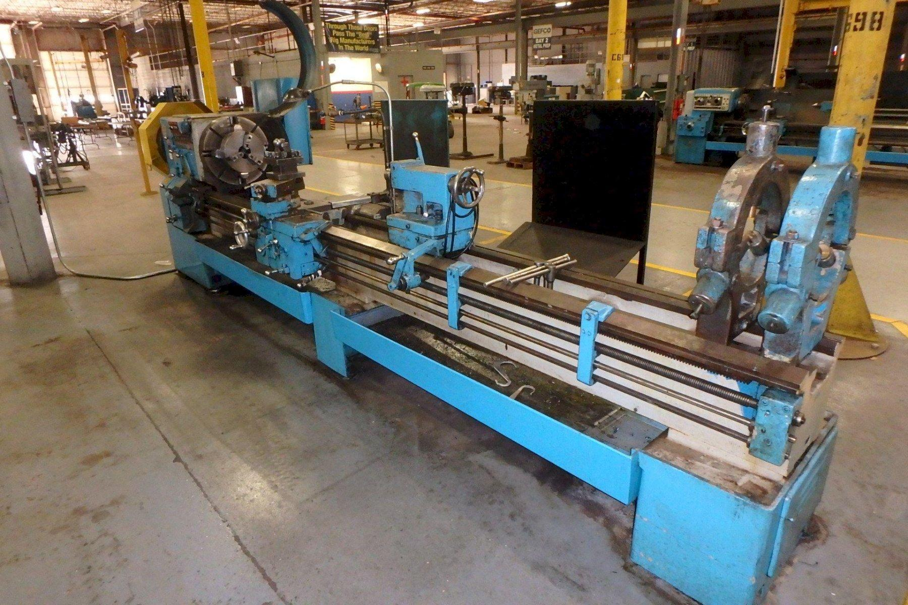 "26"" X 120"" LEBLOND HOLLOW SPINDLE ENGINE LATHE: STOCK #73749"