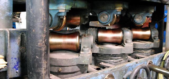 """2.3"""" (58.4 mm) WYKO6-Roll Straightener"""