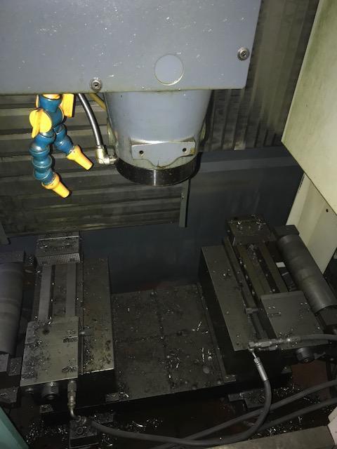 "BROTHERBrother TC-32B FT Vertical Machining Center, 21.7"" x 15.7"" x 16.3"", 16000 RPM, Brother CNC-B00 Control, Table 31.5"" x 15.7"", BT-30 taper, 26+1 ATC."