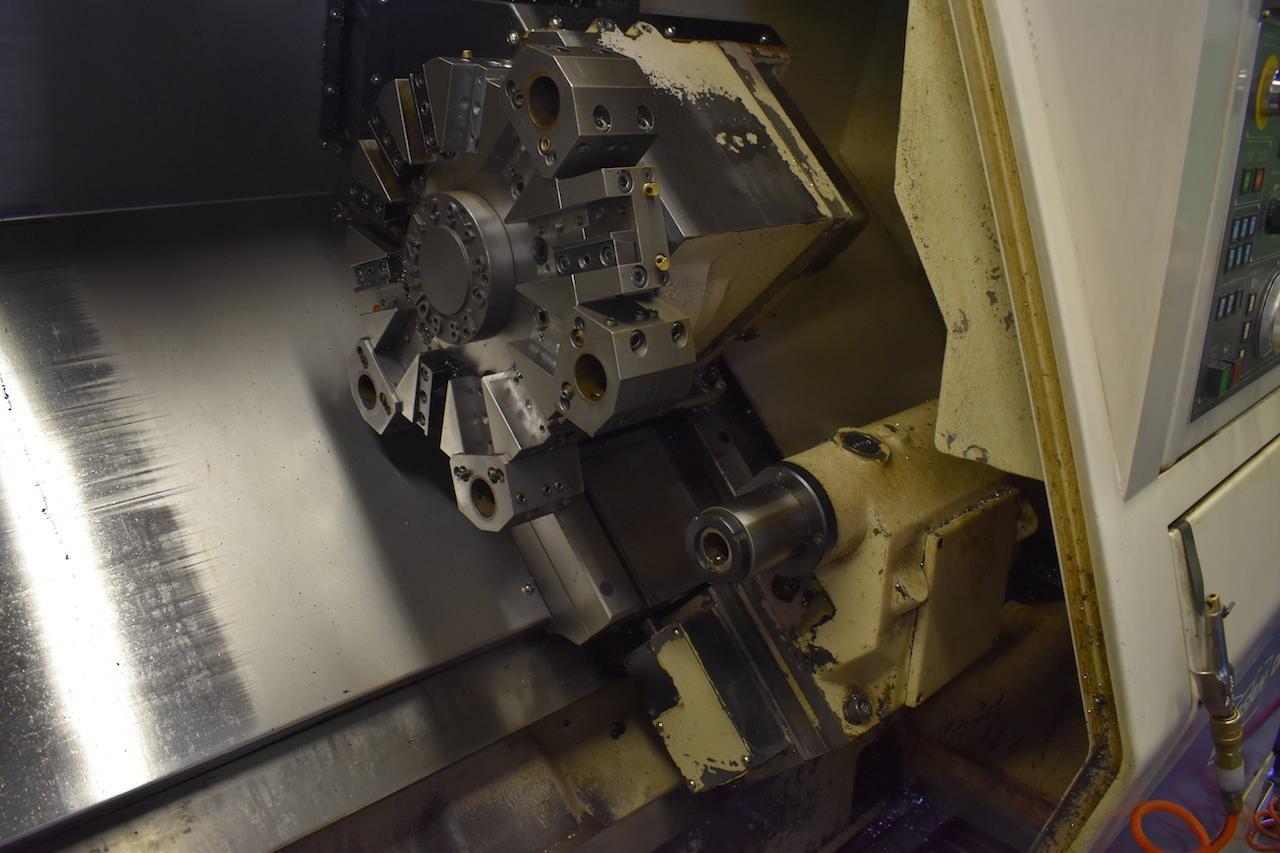Doosan/Daewoo 240C CNC Lathe Turret and Tailstock