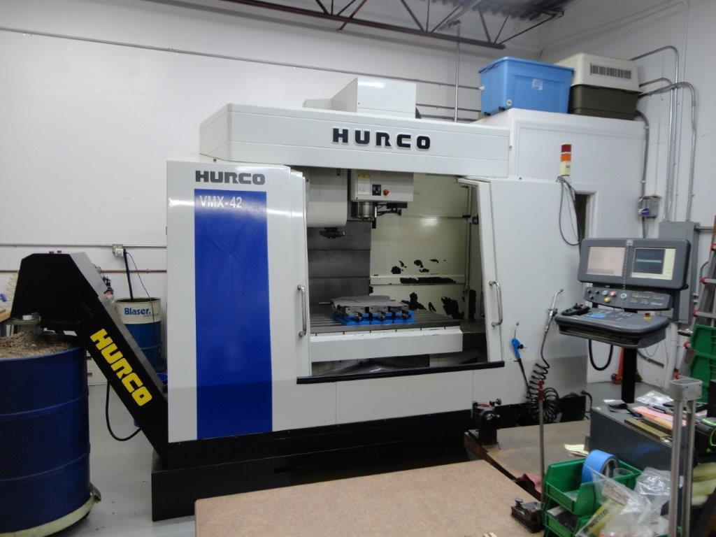 2003 HURCO VMX42 VERTICAL MACHINING CENTER
