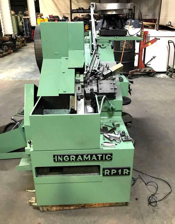 "#1015 (1/4"")   Ingramatic RP1R  High Speed Flat Die Thread Roller"