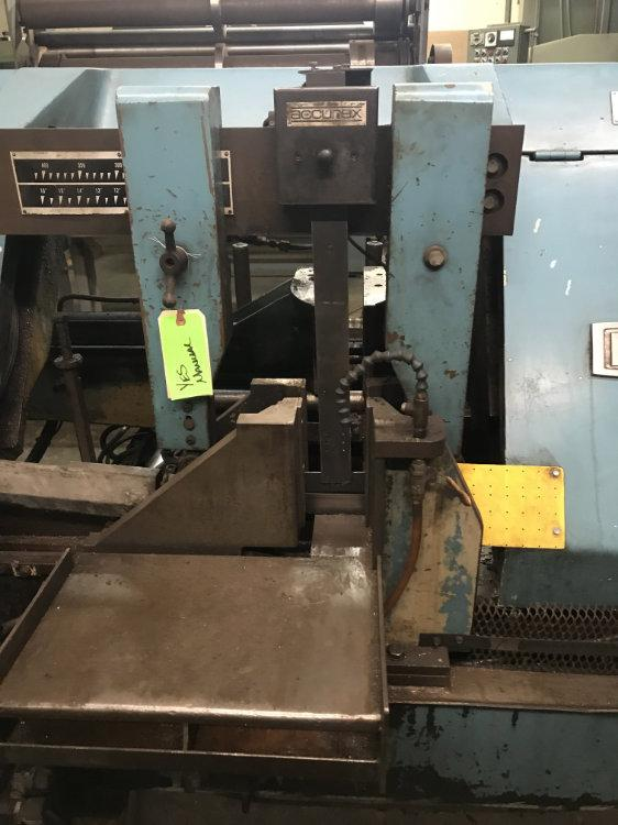 "USED DAITO FULLY AUTOMATIC HORIZONTAL BANDSAW, Model GA410W, 16.25"", Stock No. 10312"