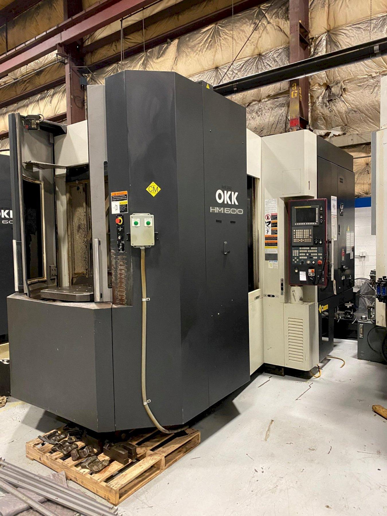 OKK HM600 CNC Horizontal Machining Center