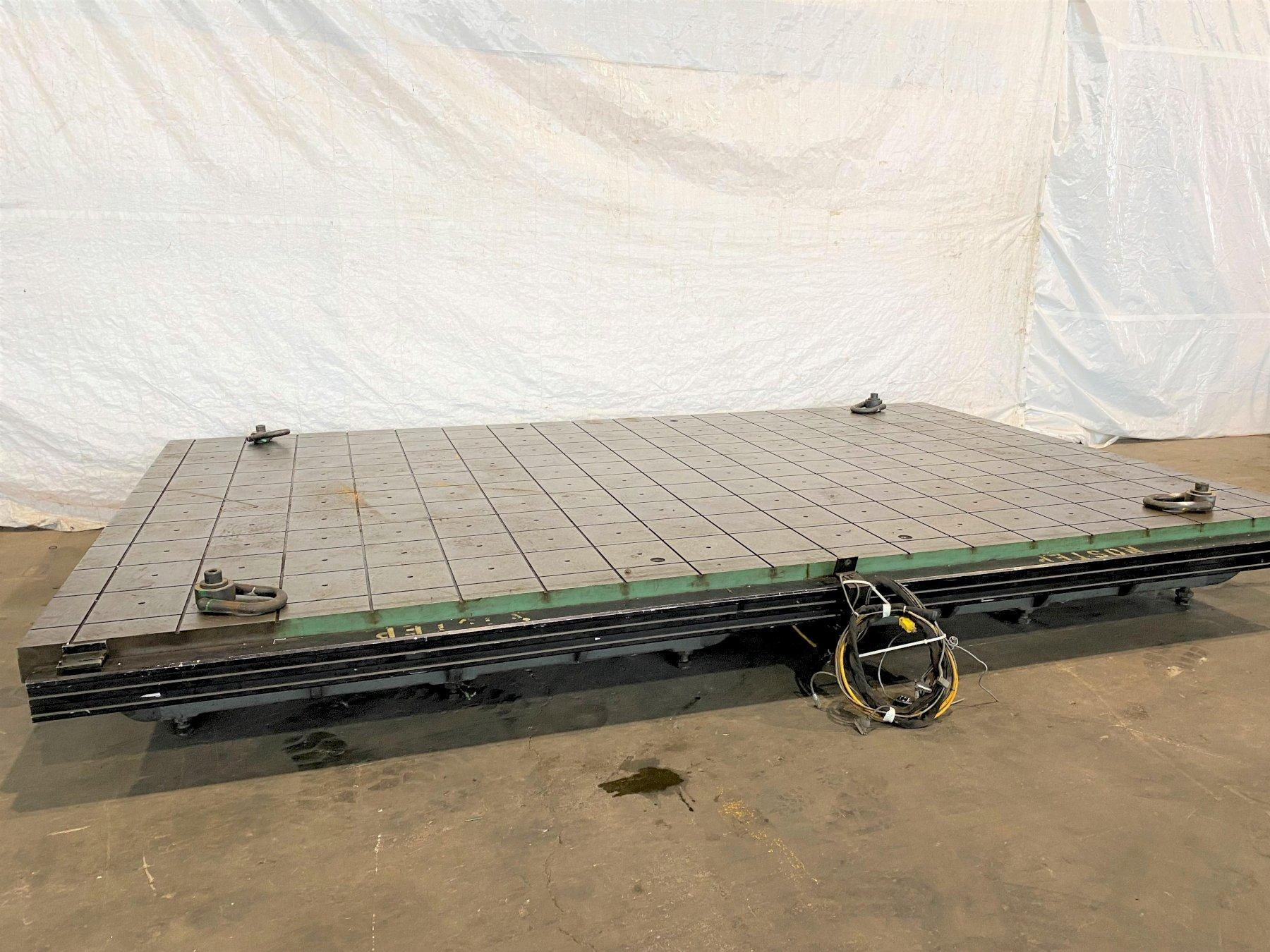 """110"""" X 180"""" X 14"""" PORTAGE GRID LAYOUT TABLE. STOCK # 0949121"""