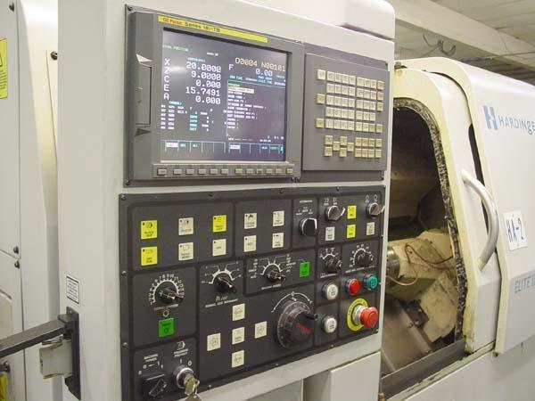Hardinge Elite II-8/51 CNC Turning Center