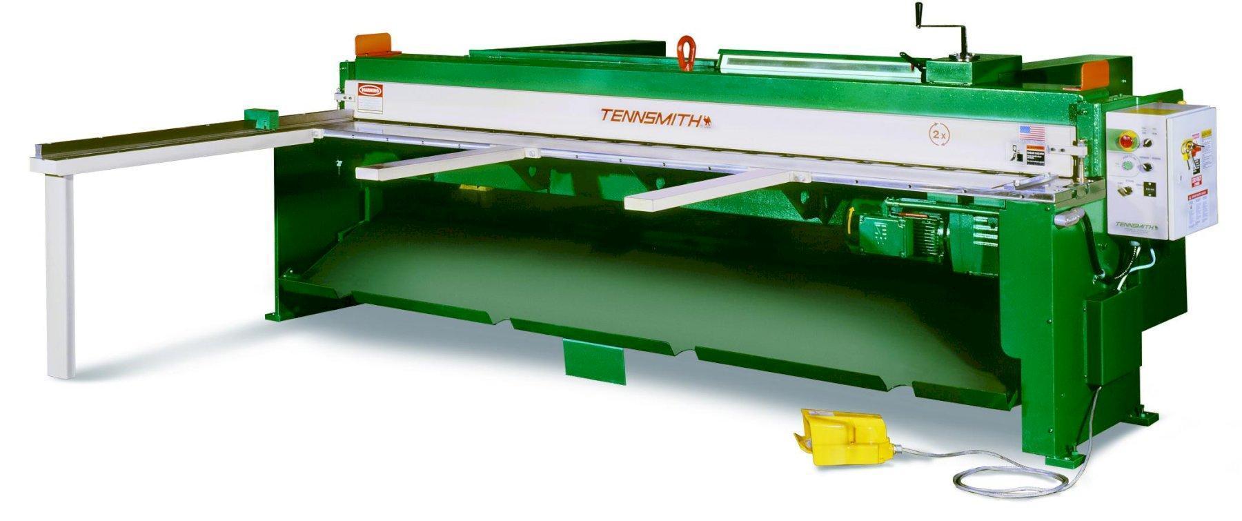 16 ga x 10 ft New Tennsmith Mechanical Power Shear Model MSE-1016R
