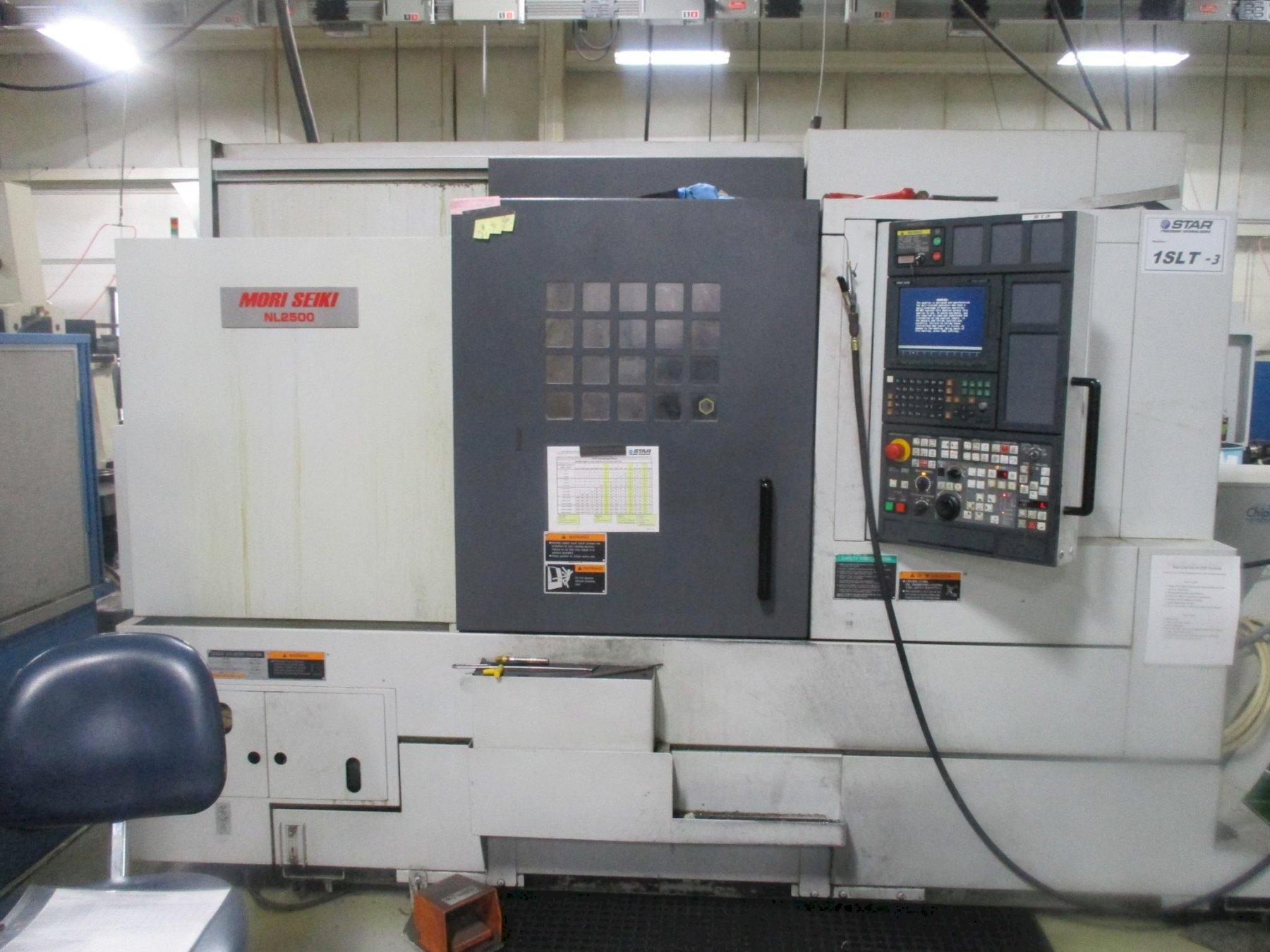 Mori Seiki NL2500Y/700 CNC Lathe, MSX850III, (5) Axis, C&Y Axis, 10