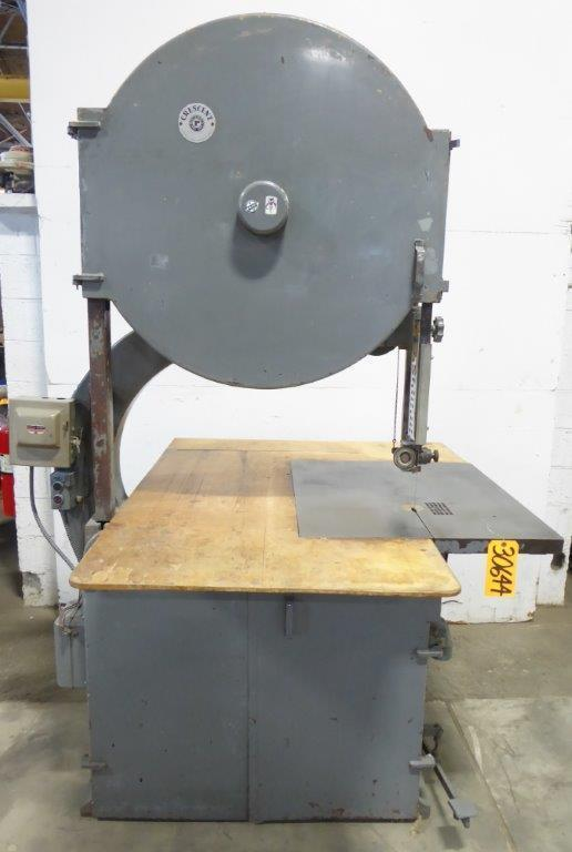 36″ Crescent/Rockwell Vertical Band Saw, 28″ x 32″ Tbl., 3 HP
