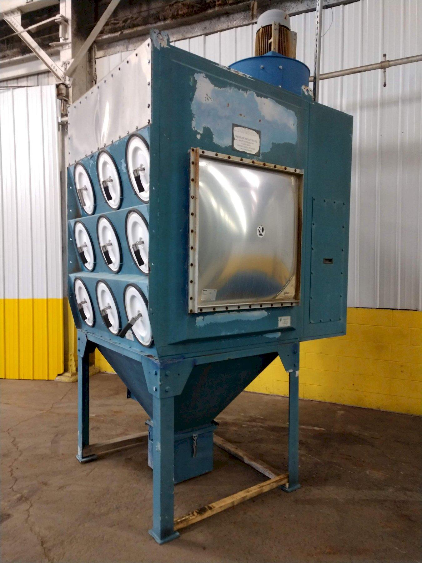 10,000 CFM DONALDSON TORIT DFT3-18 CARTRIDGE TYPE DUST COLLECTOR SYSTEM: STOCK #13577