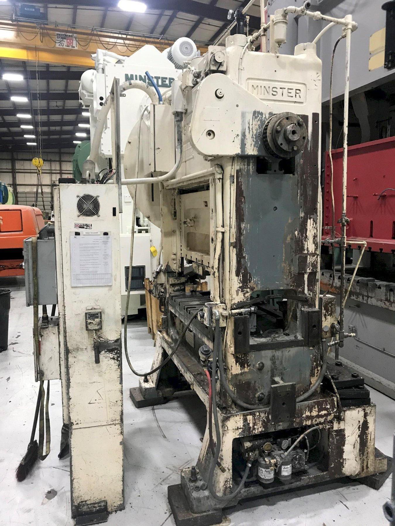 60 ton Minster P2-60-48 Piece-Maker Highspeed Press, New 1984