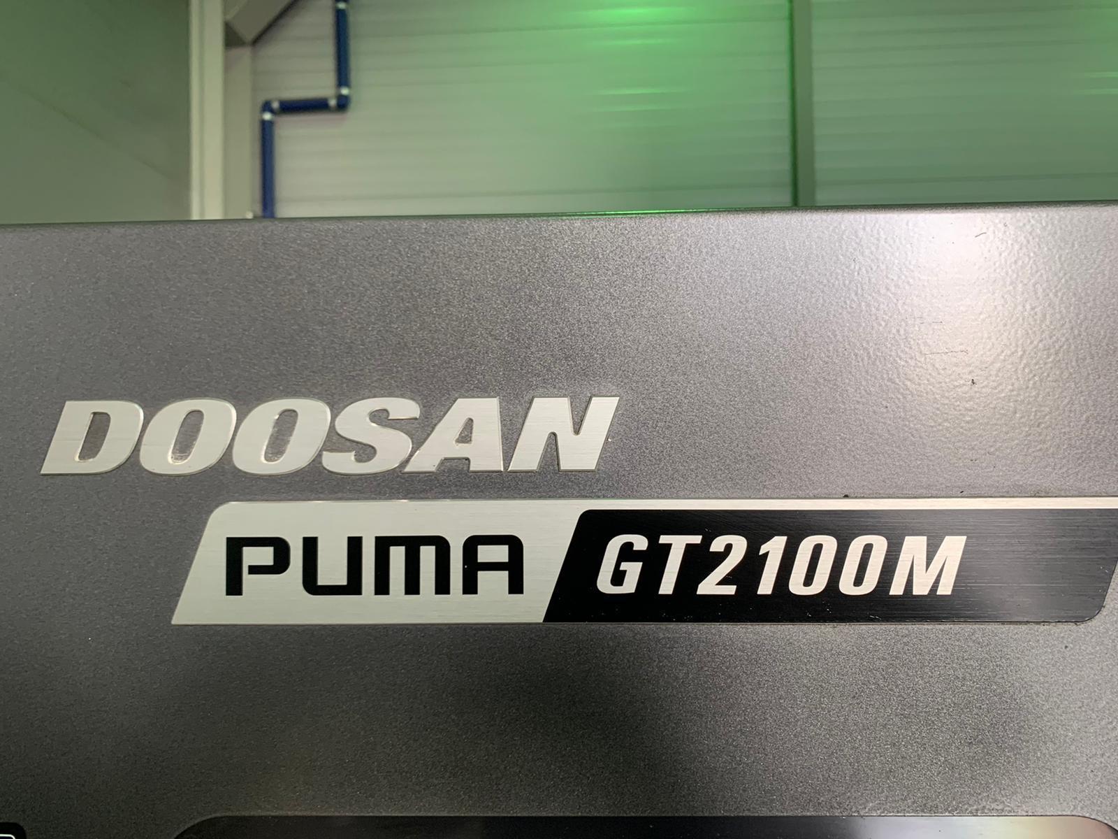 Doosan Puma GT2100M Horizontal CNC Lathe (2016)