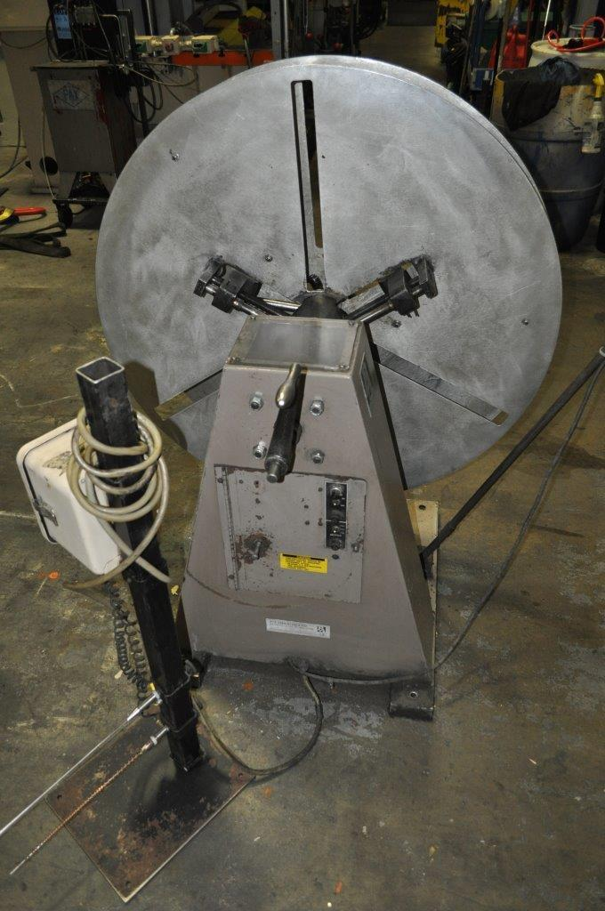 "600 LB x 10"" PA Motorized Uncoiler"