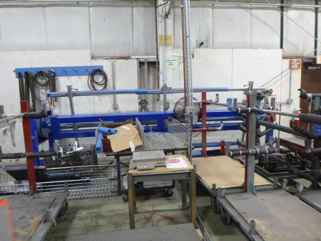 Forster America Model RSV-4200 Frame Welding Fixture