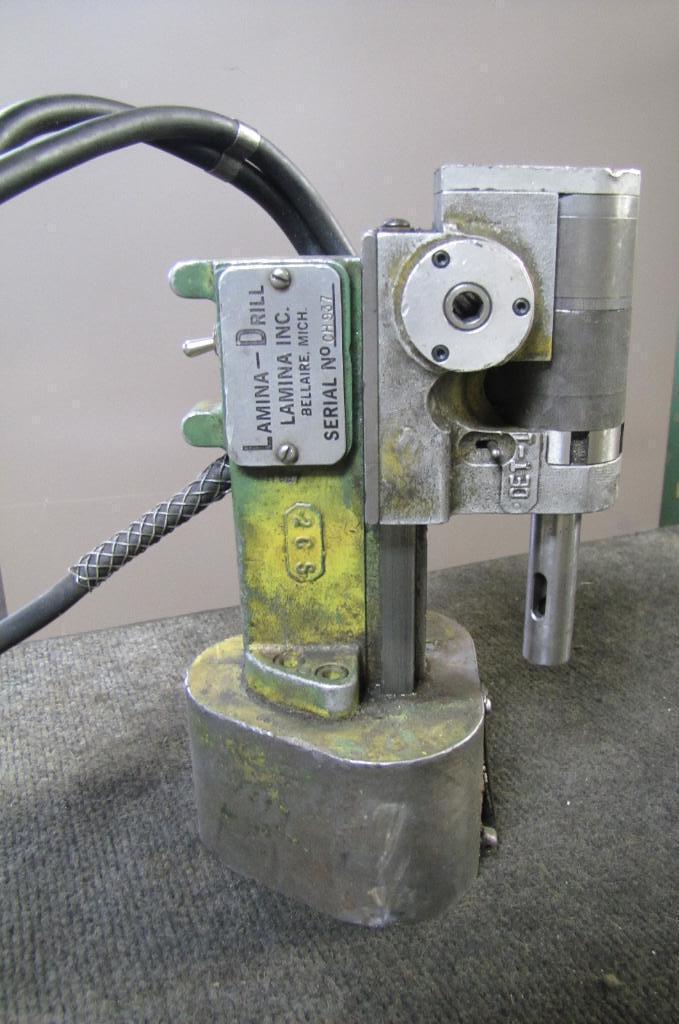 LAMINA MODEL #A10048SH HYDRAULIC DRILLING HEAD: STOCK #56423