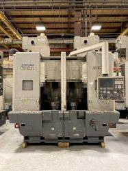 2012 Okuma 2SP-V40 - CNC Twin Spindle Vertical Turret Lathe