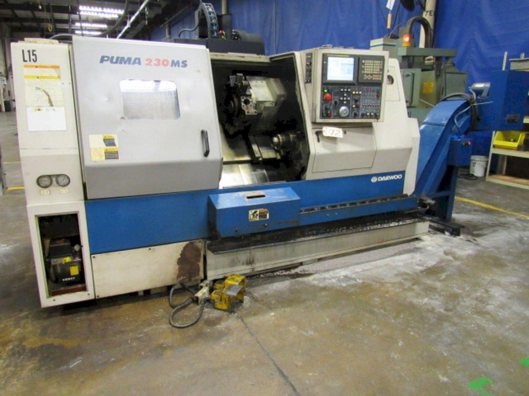 Dewoo Puma 230 MSB Centro de torneado CNC