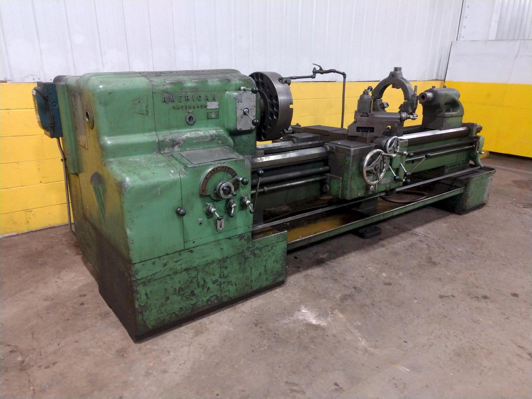 "20"" X 78"" AMERICAN PACEMAKER STYLE D ENGINE LATHE: STOCK #13809"