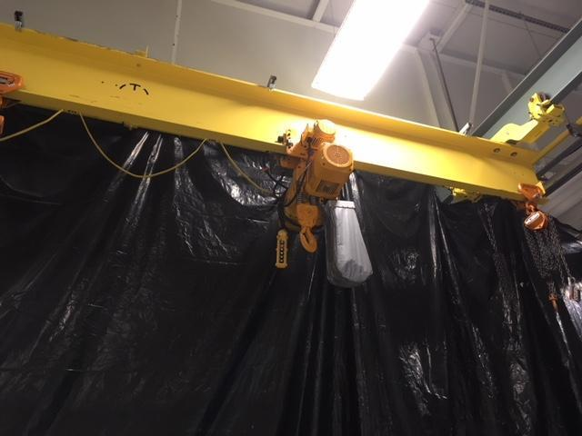 Cleveland Tramrail 4-Ton Overhead Crane