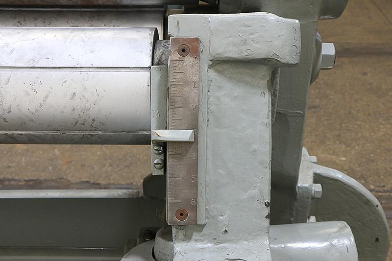 """1/4""""  x 52"""" Bertsch Initial Pinch Plate Bending Roll"""