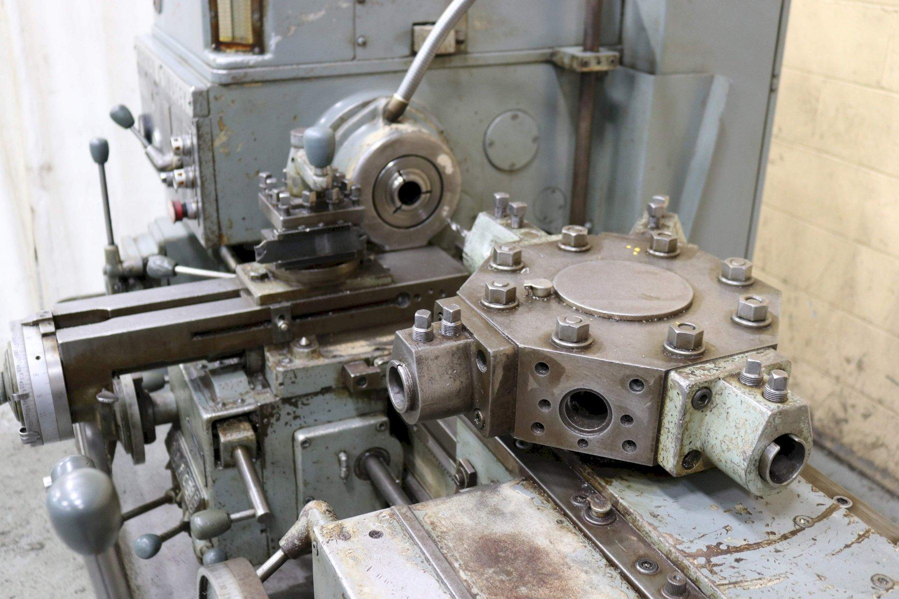 #3 WARNER & SWASEY MODEL # 4630 TURRET LATHE: STOCK #72581