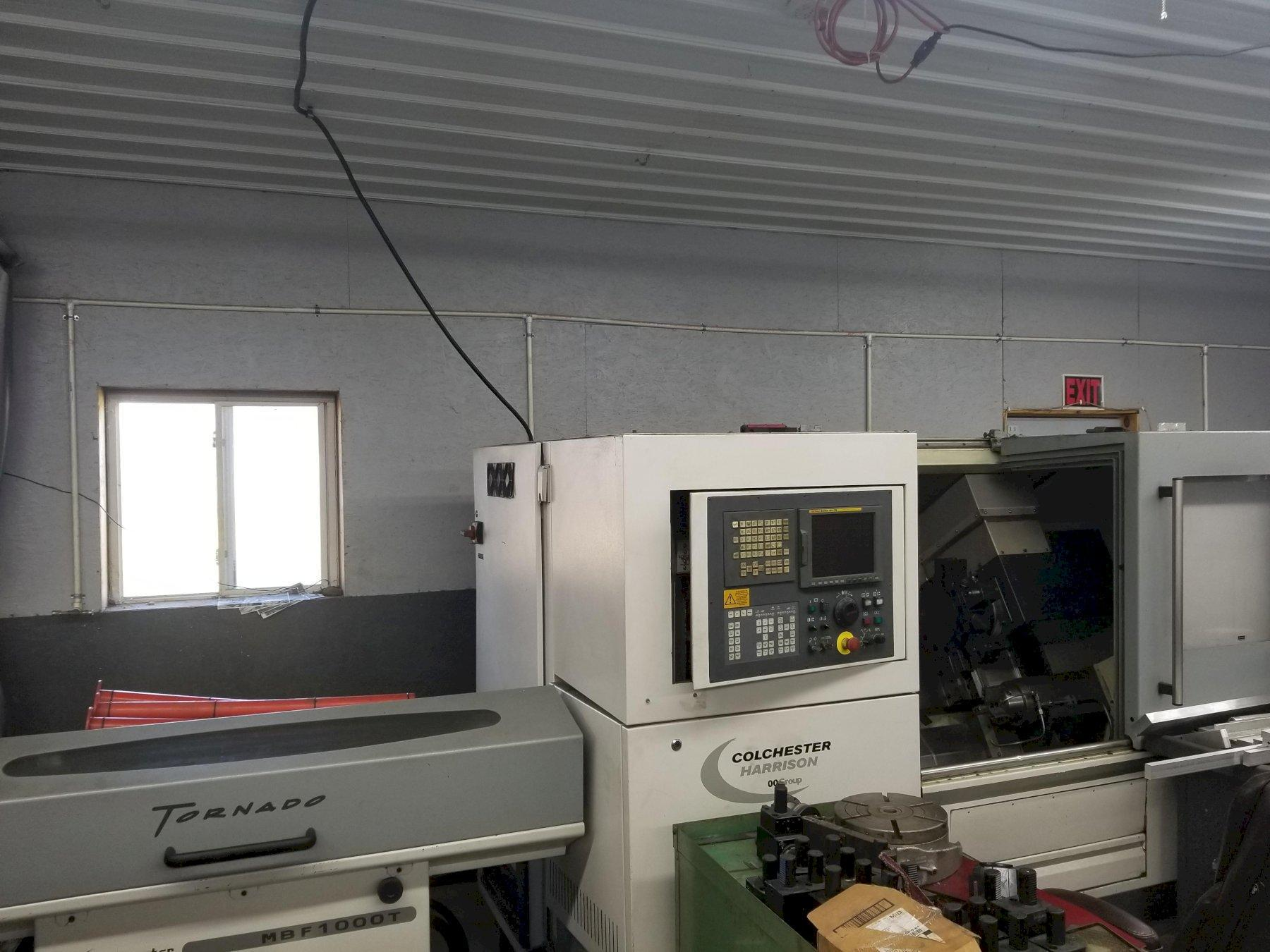 Colchester Harrison Tornado T6MS CNC Turning Center
