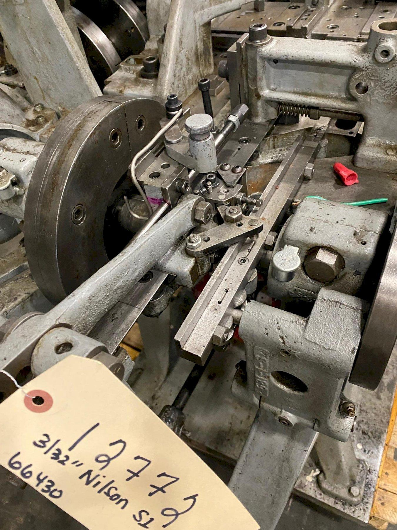 """3/32"""" Nilson Model S-1 Wire Forming Machine"""