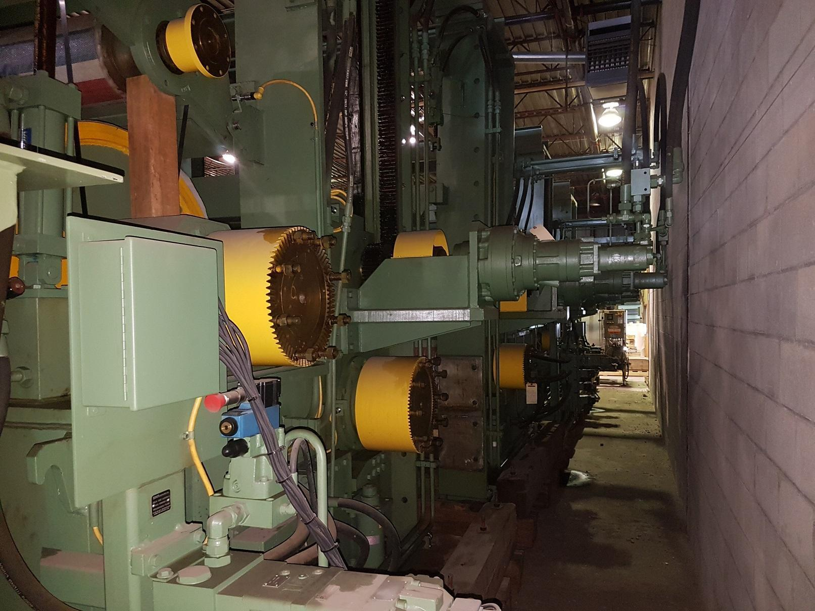 """72"""" Pro Eco / SMS Tension Leveler NEW 2007 (Never Installed)"""