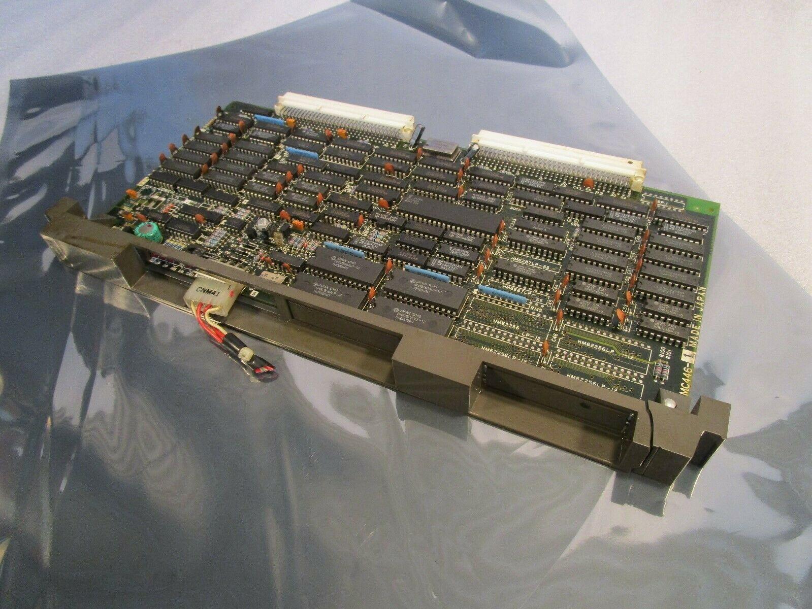 Mazak Mitsubishi MC446-1 BN634A082G53 Mazak T-32 CNC Control Board