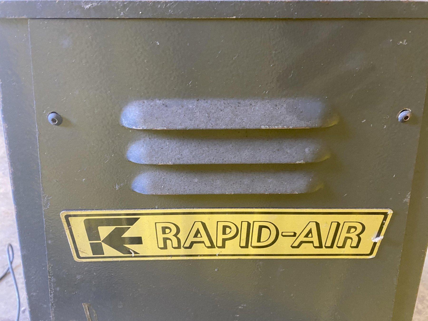 "250 LBS X 6"" RAPID AIR MODEL #R46AP COIL REEL UNCOILER: STOCK #15442"