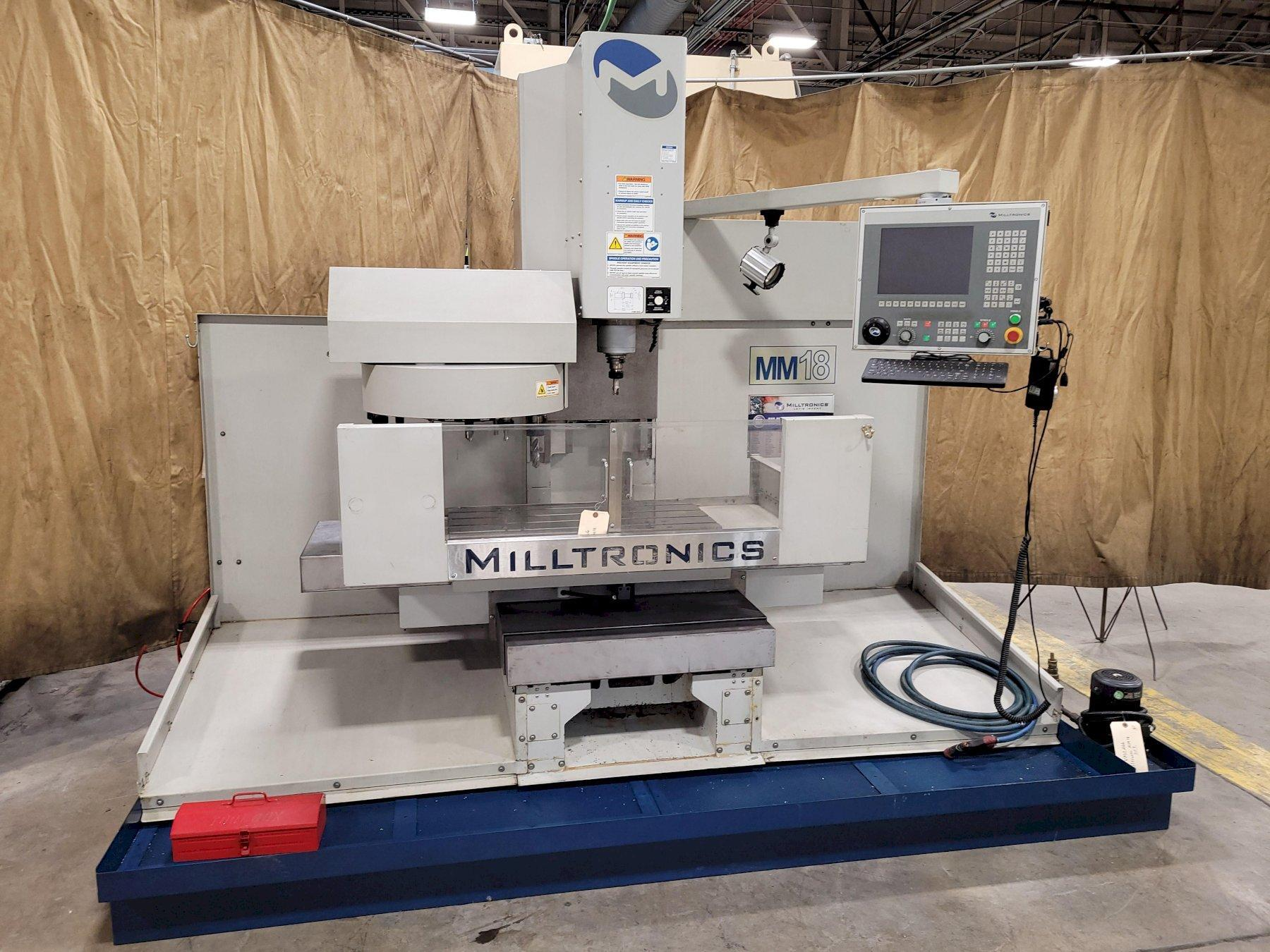 Milltronics Model MM18 CNC Toolroom Vertical Machining Center