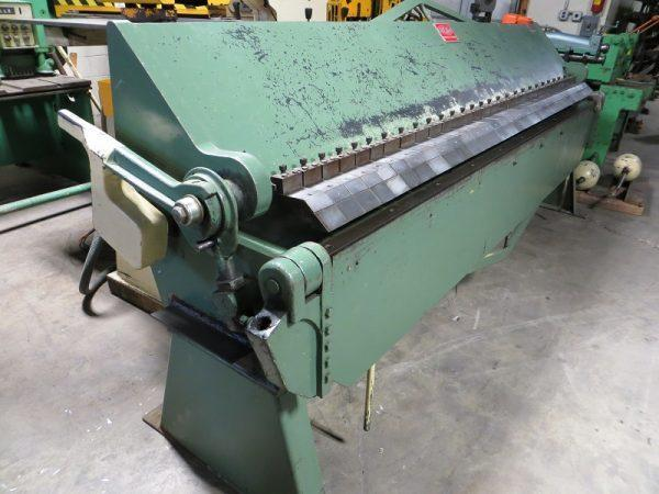 14 GA X 10 FT, CHICAGO BOX & PAN BRAKE, MODEL BPU-1014-6